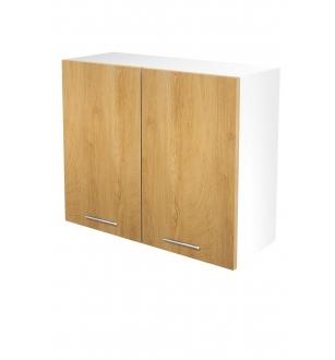 VENTO G-80/72 top cabinet, color: white / honey oak