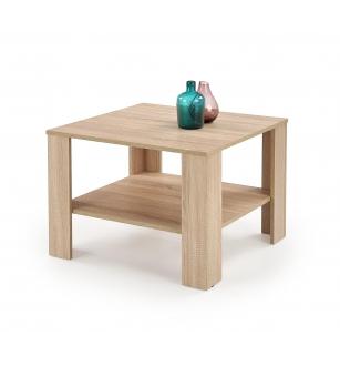 KWADRO SQAURE c. table, color: sonoma oak