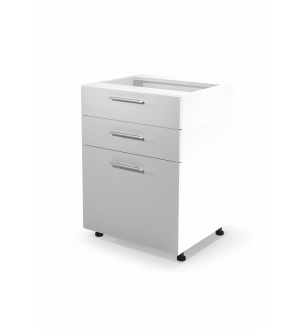 VENTO DS3-60/82 lower cabinet with drawers, color: white