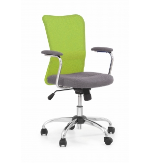ANDY chair color: grey/lime green