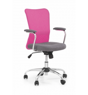 ANDY chair color: grey/pink