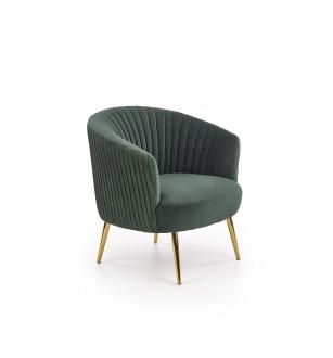 CROWN l. chair, color: dark green