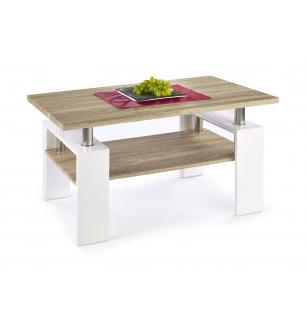 DIANA H MDF coffee table color: sonoma oak/white