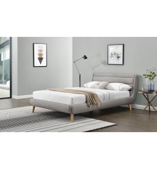 ELANDA 160 bed, color: light grey