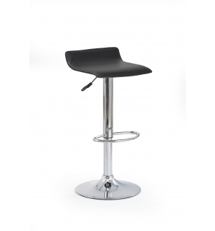 H1 bar stool color: black