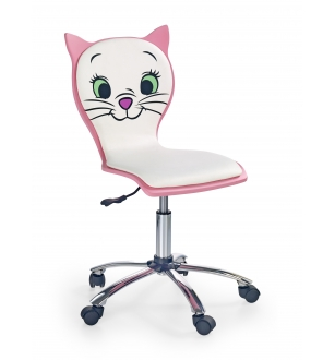 KITTY 2 chair color: white/pink