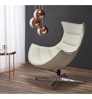 LUXOR leisure chair, color: white