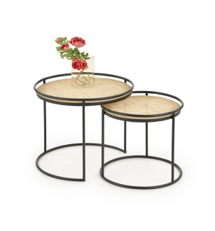 MANADO set of 2 c. tables