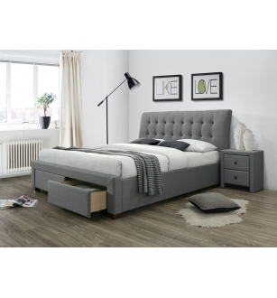 PERCY bed with drawers