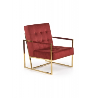 PRIUS l. chair, color: dark red