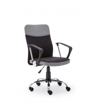 TOPIC o. chair, color: black / grey