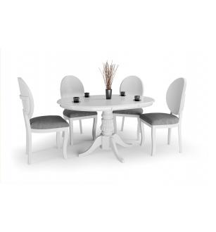 WILLIAM table color: white