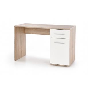 LIMA B-1 desk, color: white / sonoma oak