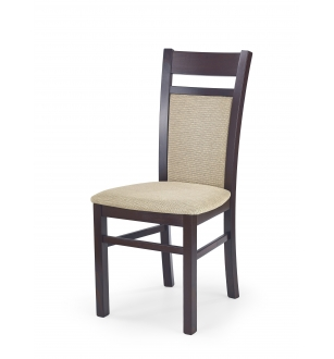 GERARD2 chair dark walnut / Torent Beige