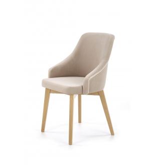 TOLEDO 2 chair, color: honey oak / SOLO 252