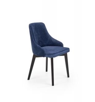 TOLEDO 3 chair, color: quilted velvet Karo 4 - MONOLITH 77