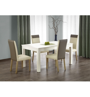 SEWERYN 160/300 cm extension table color: white