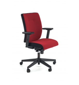 POP office chair, color: black / red