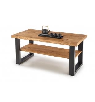 HORUS-LAW coffee table, color: light oak/black