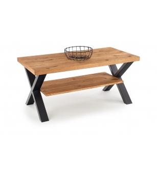 XAVIER-LAW coffee table, color: light oak/black