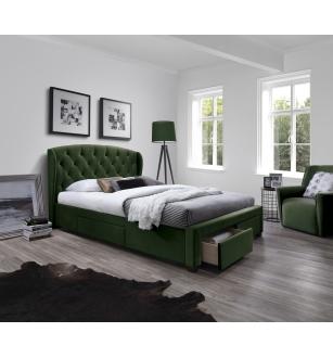 SABRINA bed dark green