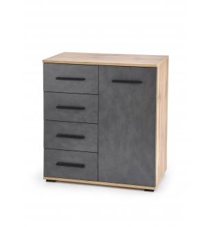 LIMA KM-2 chest, color: wotan oak / grey - matera