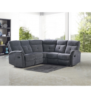 LAHTI corner sofa color: dark grey