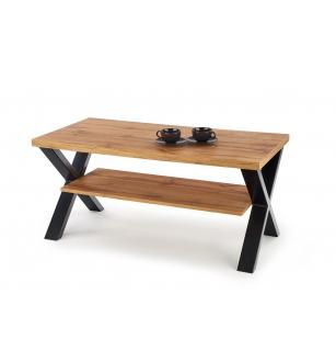 VENOM X coffee table color: votan oak/black