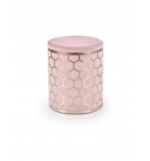 AQUA pouffe color: light pink