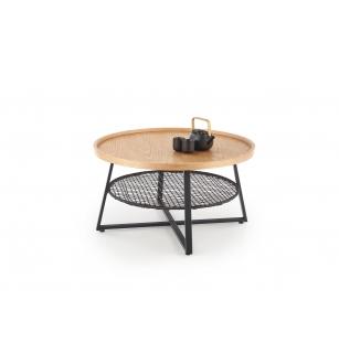 FLORENCE c. table natural oak / black