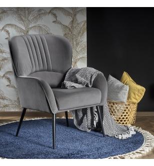 VERDON chair color: grey