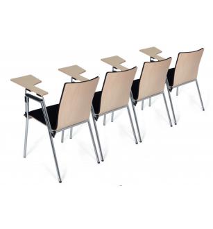 Kėdė su atliankiamu staliuku 0593