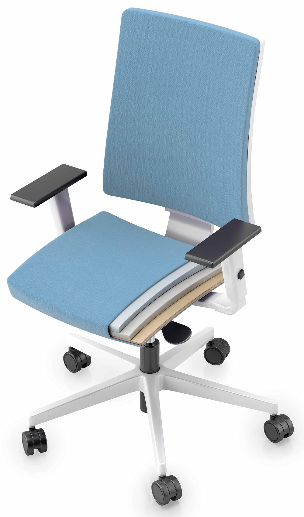 biuro kėdės navigo sėdynė ir atlošas
